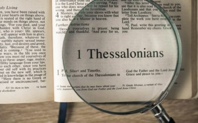 April / May Sermons on: 1 Thessalonians