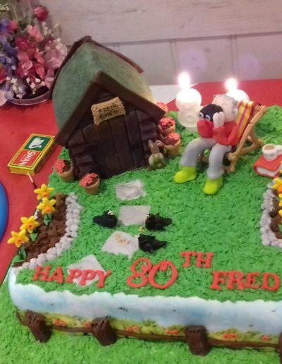 Freds 80th cake