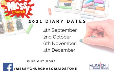 Messy Church 6th November 2021