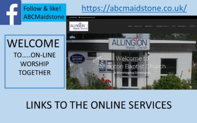 On-line Worship Together service archive