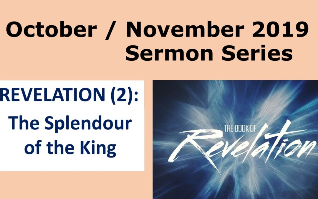Sermon Series in October/November