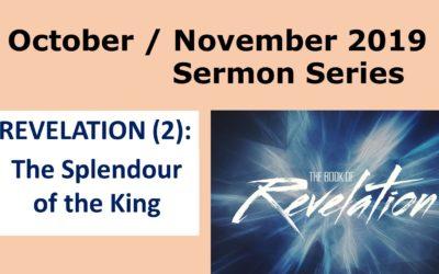 Sermon Series in October/November
