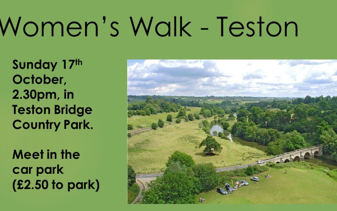Women's walk in Teston Country Park – 16th October 2021